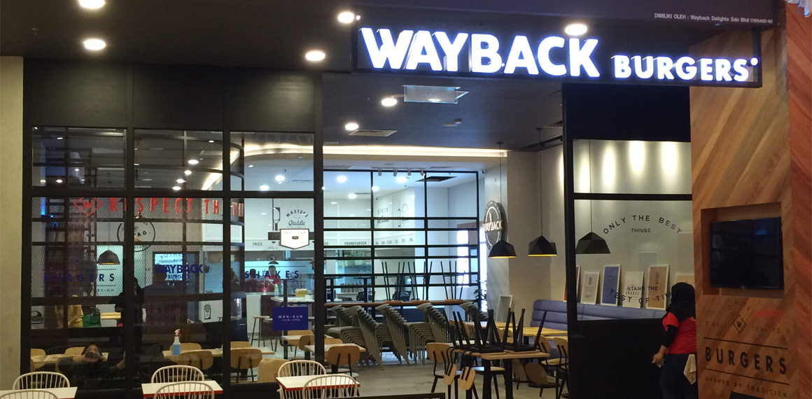 Wayback Burgers, International