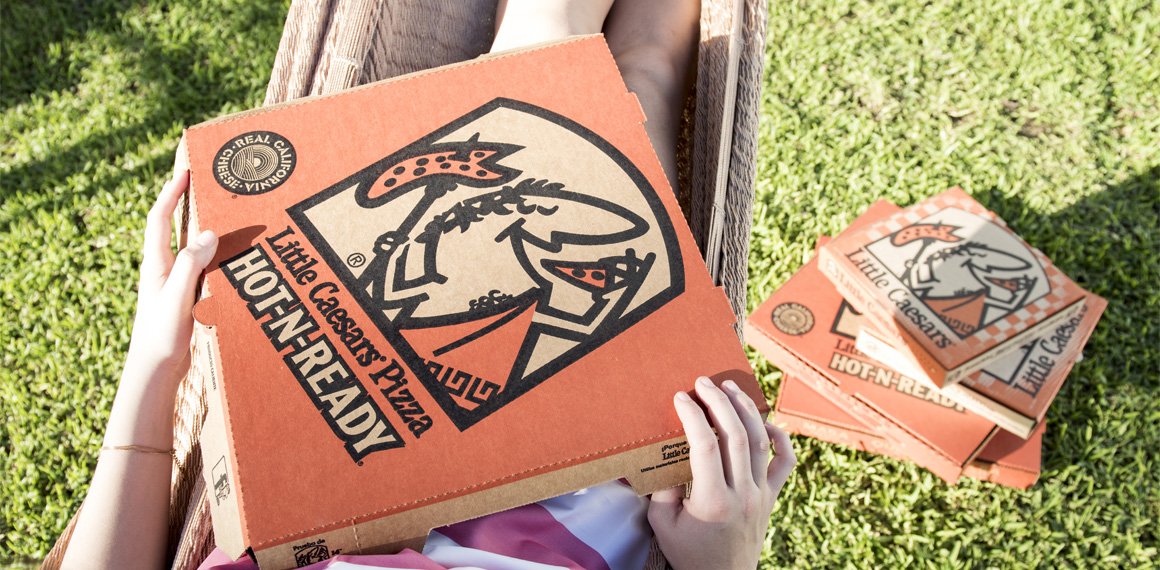 Little Caesars – is the third-largest pizza chain in the United States