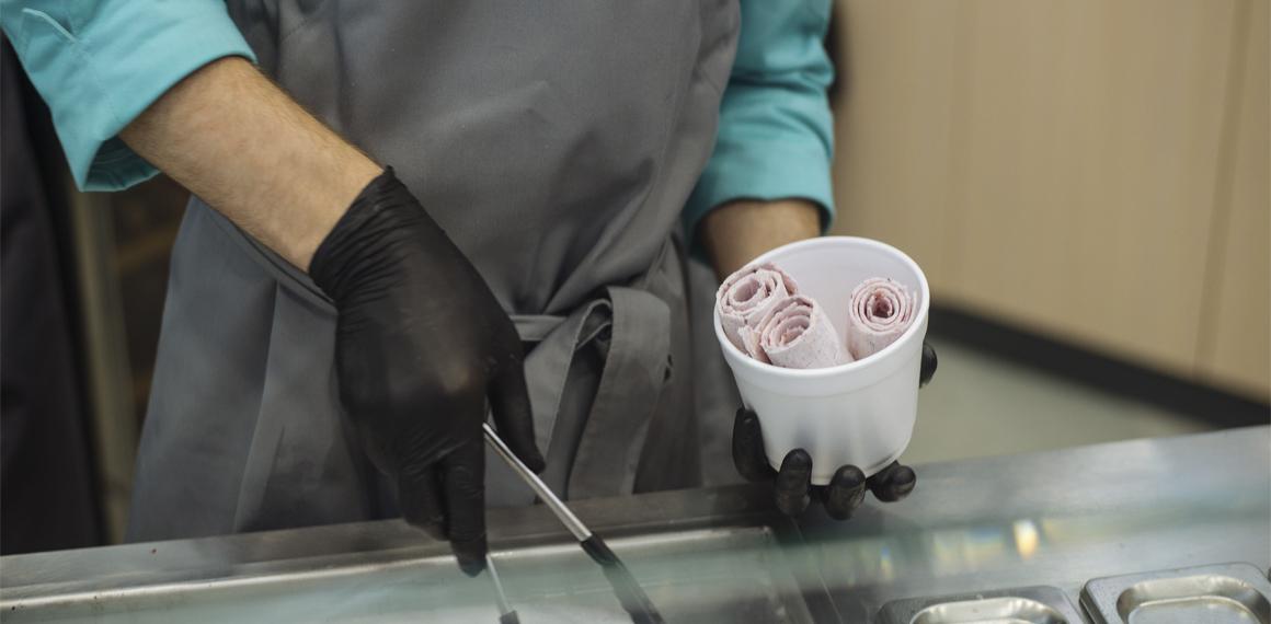 ice roll café – кафе-кондитерская