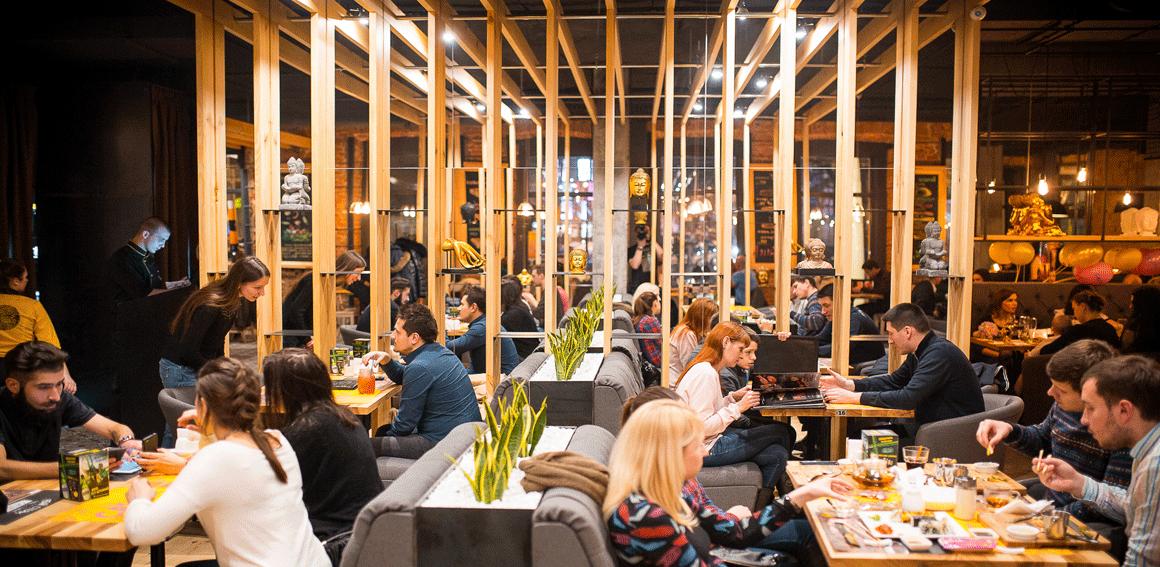 casta — сеть ресторанов современной американской и японской кухни.