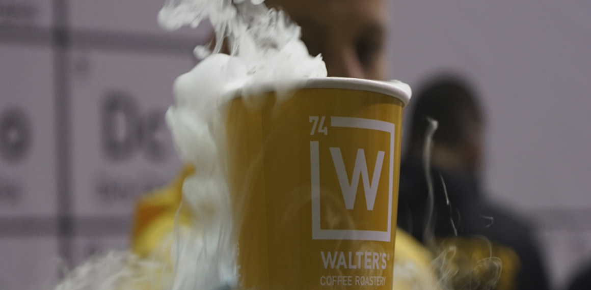 walters coffee and roastery – is the first coffee laboratory.