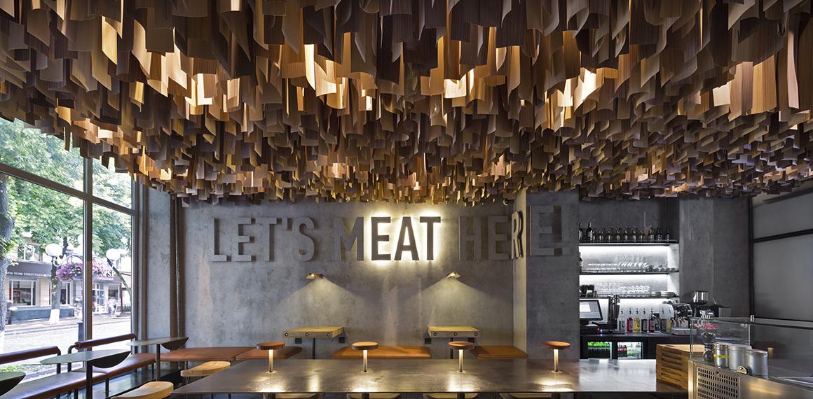shade burger – це стильна бургерна з відкритою кухнею та ексклюзивним інтер'Єром